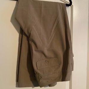 Lane Bryant khaki slacks
